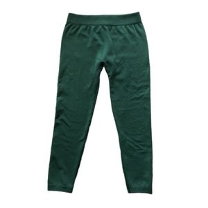 QED London Forest Green Stretchy Legging Pants
